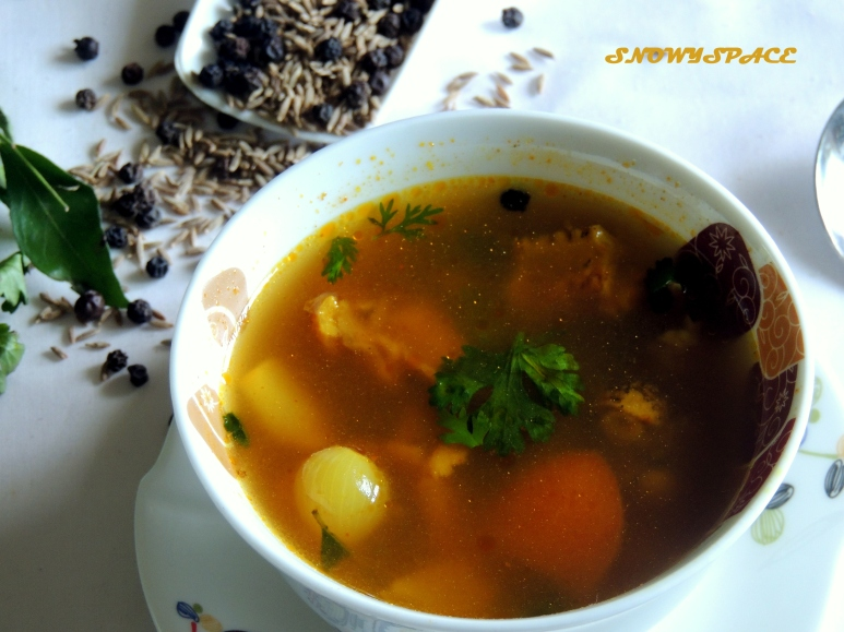 Country chicken soup 2