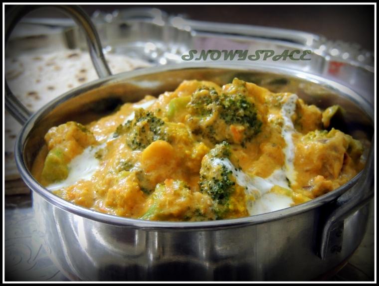 BroccoliButterMasala_Roti_SideDish_Healthy_001