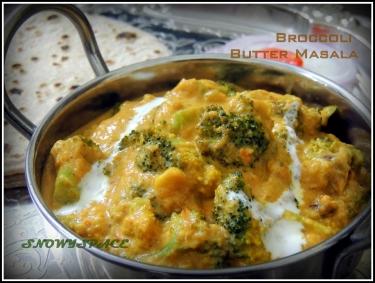 Broccoli butter masala