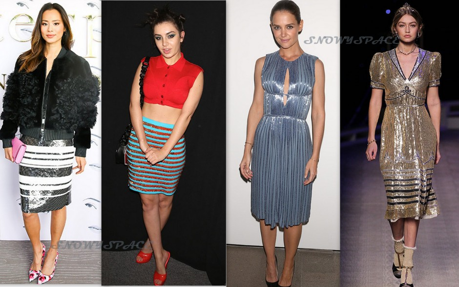 NYFW_Fall2016_Celebrities_SequinDresses_Fashion