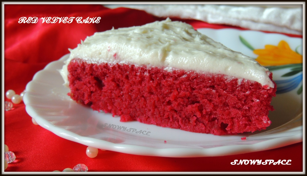 Red Velvet Love!!! (Recipe for Red Velvet Cake)